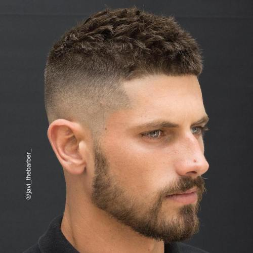 High And Tight With Textured Top