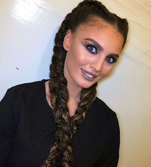 long two braids hairstyle