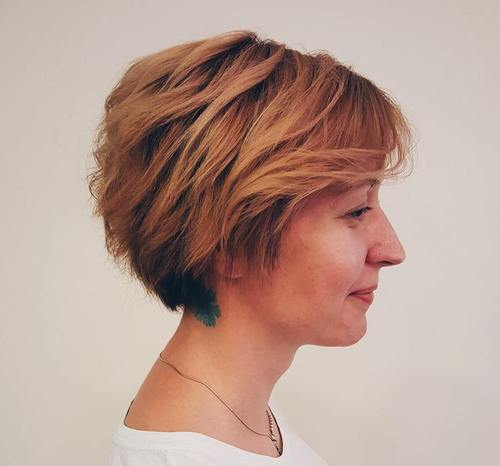 bob haircuts layered 70 and easy to style layered hairstyles 4264