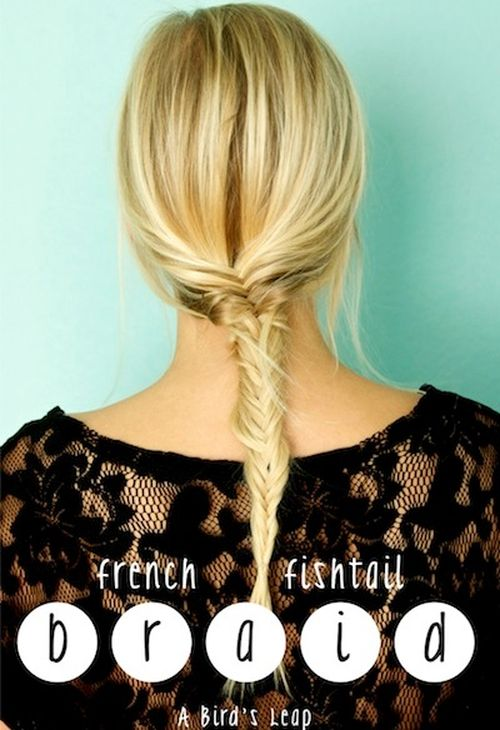 Fishtail for thin hair