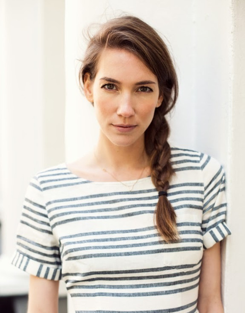 Image result for easy side braid