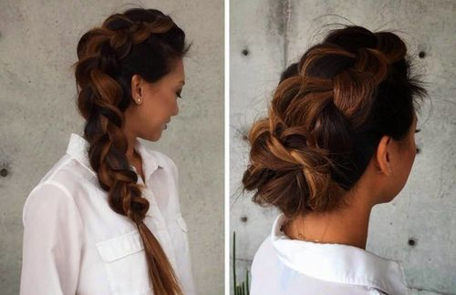 Admirable 19 Gorgeous Braided Hairstyles For Long Hair Hairstyles For Men Maxibearus