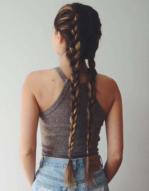 40 Two French Braid Hairstyles for Your Perfect Looks