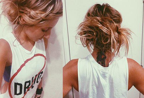 Strange 30 Chic Messy Updos For Long Hair Short Hairstyles For Black Women Fulllsitofus