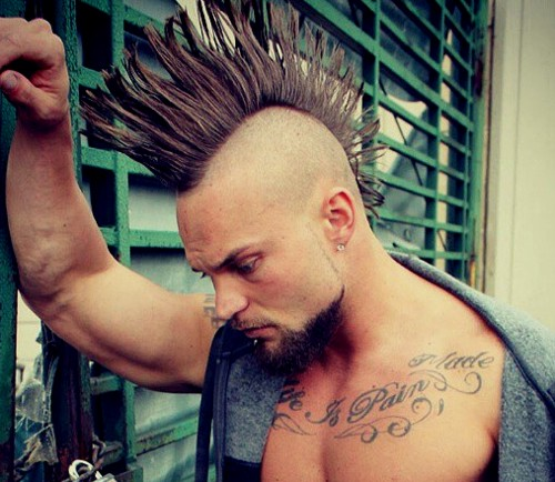 real men's Mohawk
