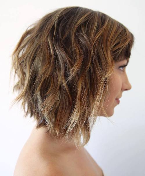 Excellent 60 Fabulous Choppy Bob Hairstyles Hairstyles For Men Maxibearus