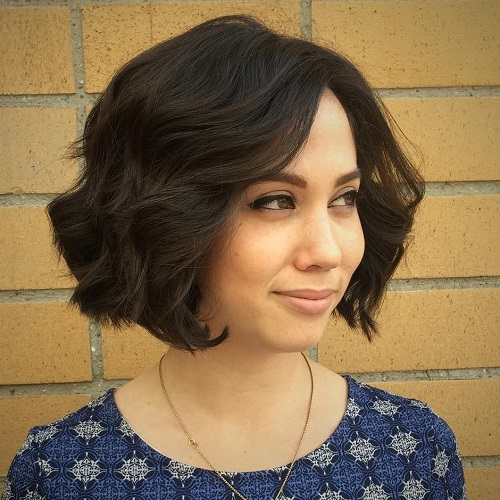 Cool 50 Wavy Bob Hairstyles Short Medium And Long Wavy Bobs For 2017 Short Hairstyles Gunalazisus