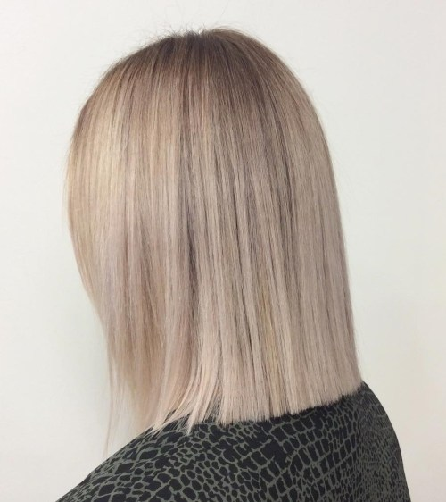 how to cut blunt bob