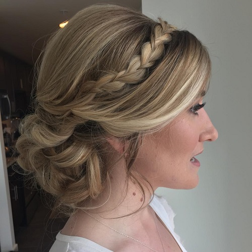 40 cute and comfortable braided headband hairstyles