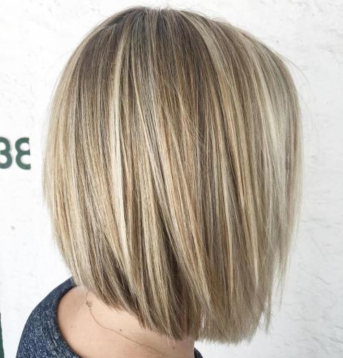 Blunt Bob With Layers