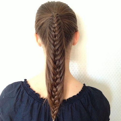 Awe Inspiring Braided Ponytail Hairstyles 40 Cute Ponytails With Braids Short Hairstyles Gunalazisus
