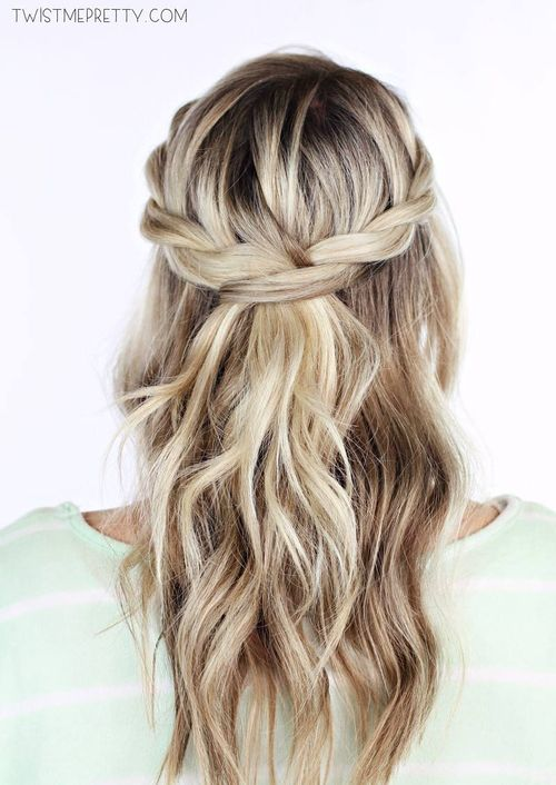 #1: Twisted Crown Braid