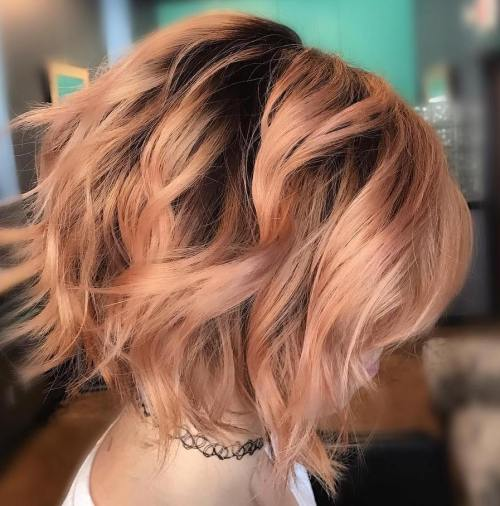 50 Wavy Bob Hairstyles – Short, Medium and Long Wavy Bobs