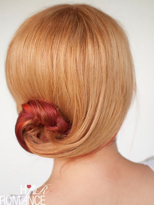 cute side bun hairstyle