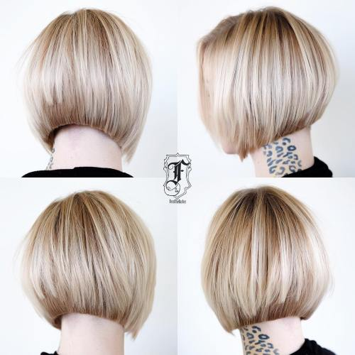 Longer bob hairstyles with layers