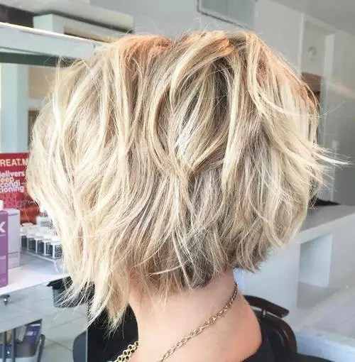 medium length bob haircuts for thick hair 50 best bob hairstyles for 2017 medium bob haircuts 3058