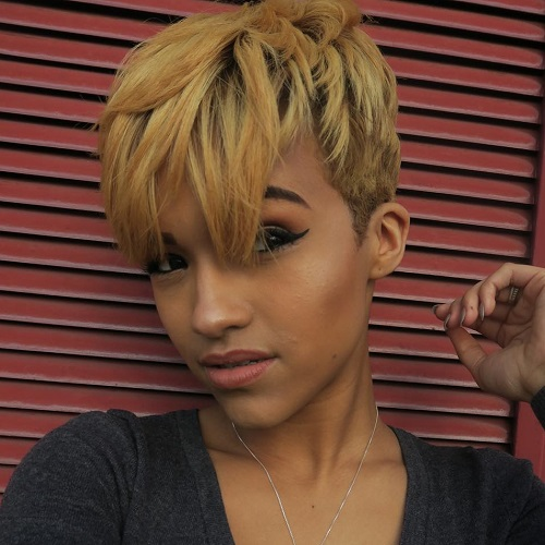 Blonde Red Brown Ombre Ed And Highlighted Pixie Cuts For Any Taste