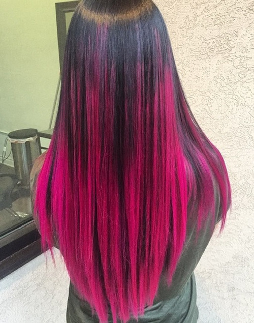 Ombre de Couleurs de Cheveux 2016