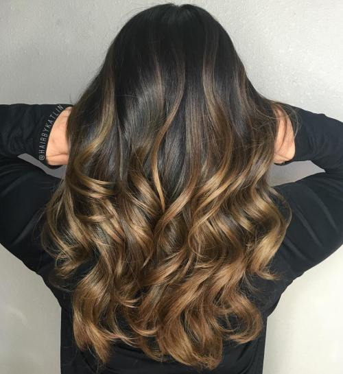 15 Balayage Hair Color Ideas With Blonde Brown And Caramel Highlights