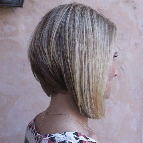 50 trendy inverted bob haircuts brown blonde layered bob urmus Gallery