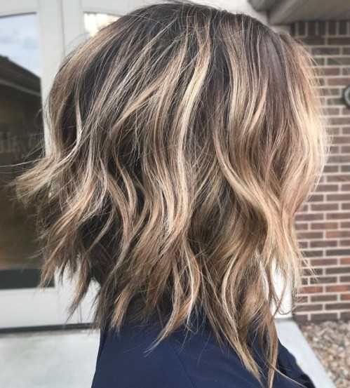 Medium Inverted Bob For Thick Hair