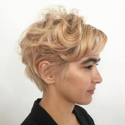 haircut styles curly hair 30 standout curly and wavy pixie cuts 2716