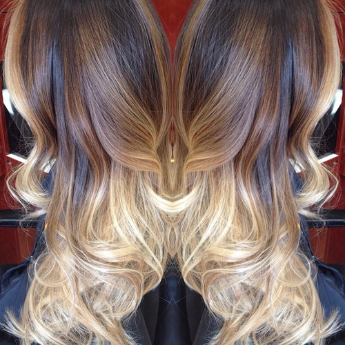 40 glamorous ash blonde and silver ombre hairstyles brown and blonde balayage ombre urmus Image collections