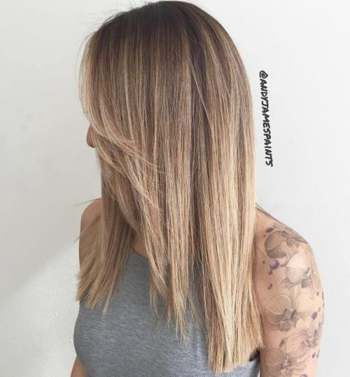 40 Beautiful Blonde Balayage Looks