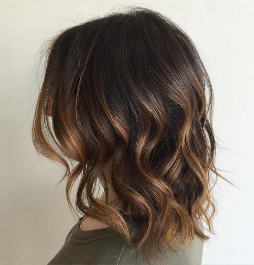Subtle Golden Brown Balayage