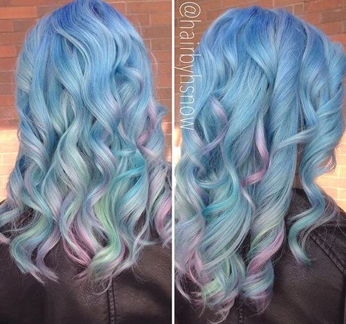 Cotton Candy Blue Hair: 20 Pastel Blue Hair Color Ideas You Have To Try