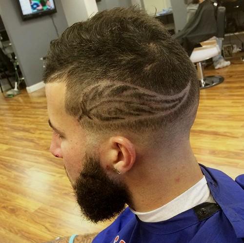 autumn fade haircut for men