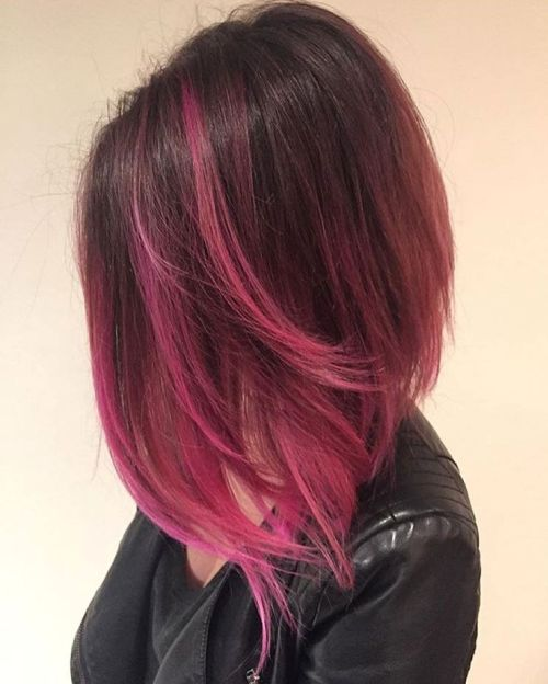 40 Pink Hairstyles: Pastel Colors, Pink Highlights, Blonde ...