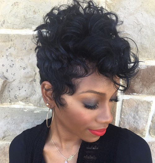 Fabulous 70 Short Shaggy Edgy Choppy Pixie Cuts And Styles Short Hairstyles For Black Women Fulllsitofus
