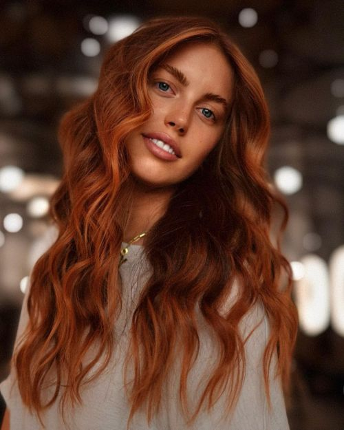 Copper Fall Hair Color