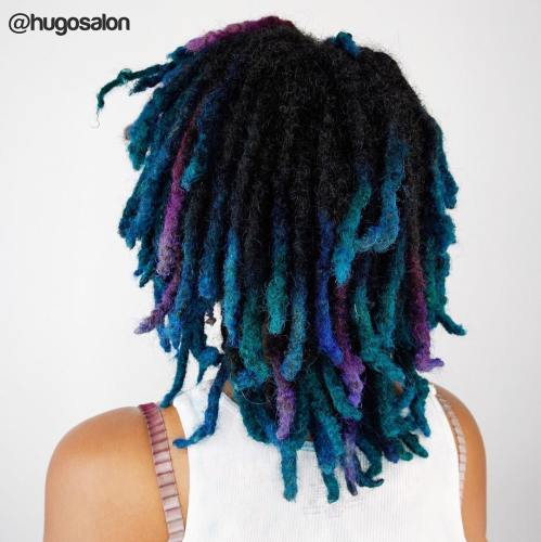 Medium Ombre Locs