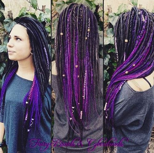 Wedding Hairstyles For Long Hair 24 Creative Unique: 20 Daring And Creative Hairstyles With Dreadlocks For Women