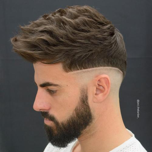 The 40 hottest faux hawk haircuts for men curled faux hawk urmus Gallery