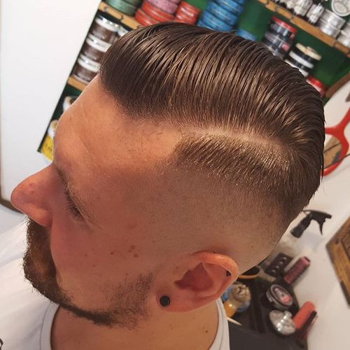 long top fade haircut for white men