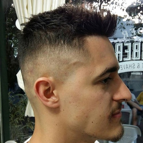 Enjoyable The 40 Hottest Faux Hawk Haircuts For Men Short Hairstyles For Black Women Fulllsitofus