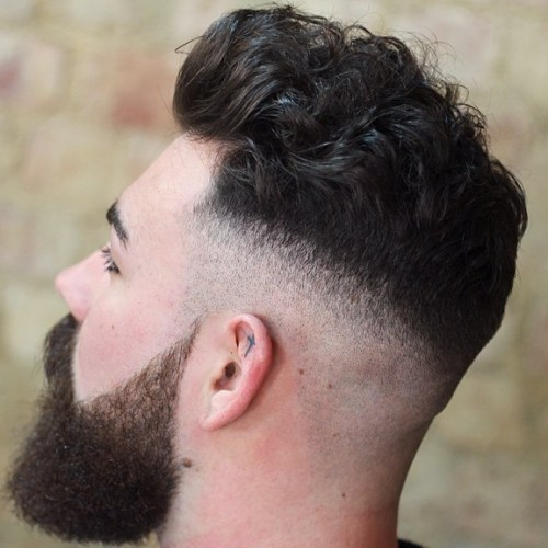 Skin Fade For Curly Hair
