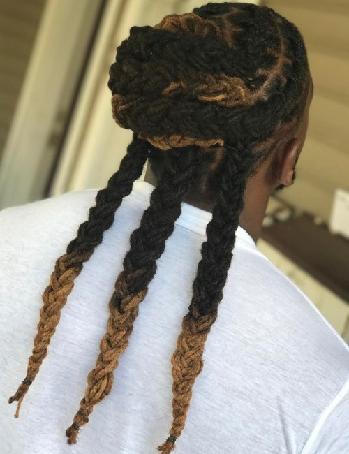 Braided Locs For Men