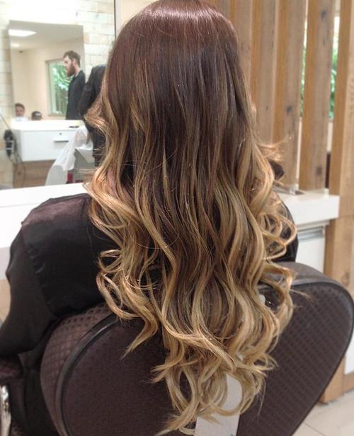 long hair v cut