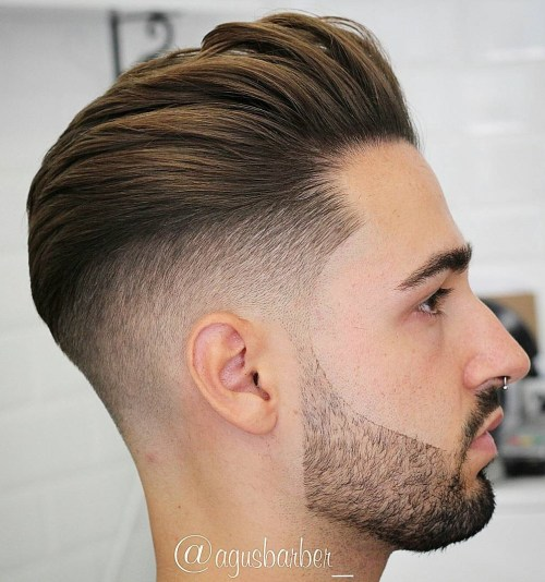 pompadour haircuts and hairstyles