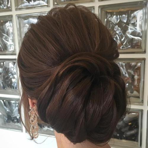 Large Messy Chignon Updo