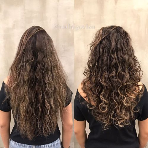Perm Hairstyle For Long Hair