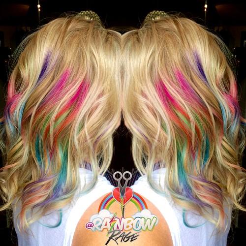 rainbow hair join
