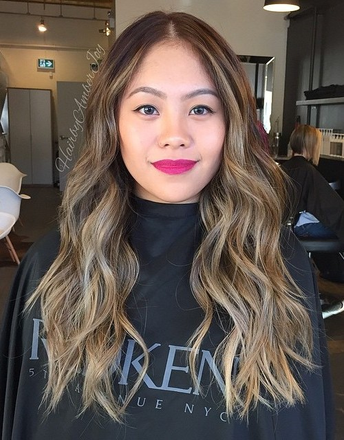 Long Hair with Subtle Highlights
