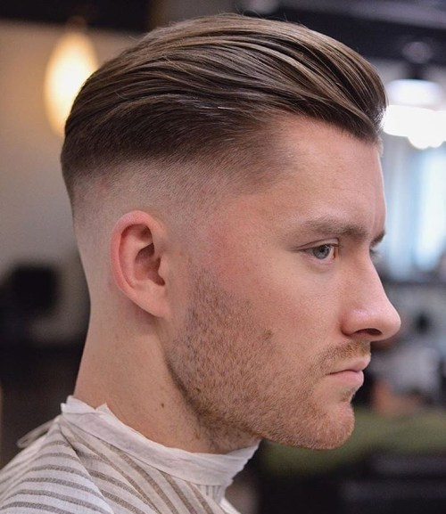 Long Top  Fade Haircut