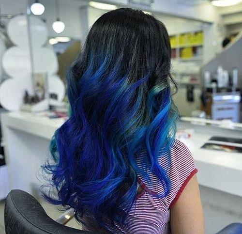 Phenomenal 40 Vivid Ideas For Black Ombre Hair Hairstyles For Women Draintrainus