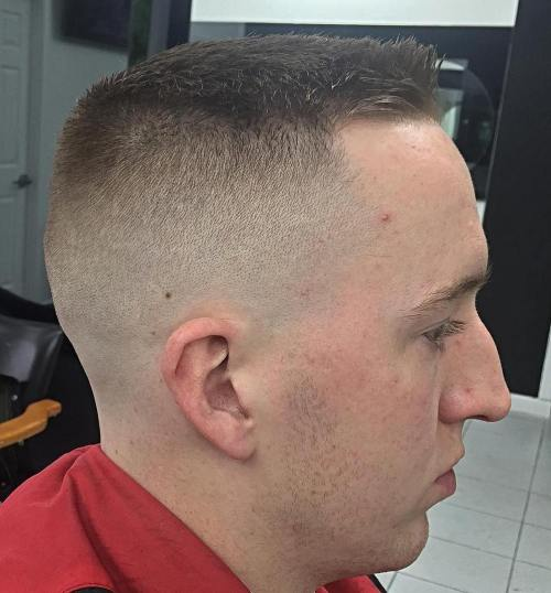Different Military Haircuts For Any Guy To Choose From - Army cut hairstyle indian